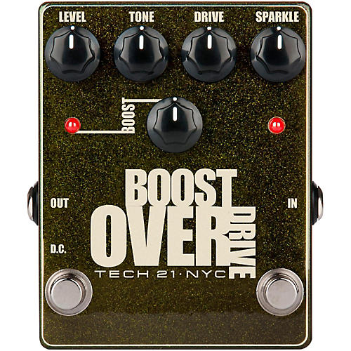 Tech 21 Boost Overdrive Effects Pedal