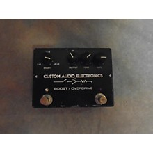 Custom Audio Electronics Boost/overdrive Effect Pedal