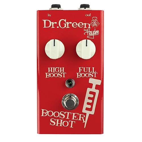 Dr. Green Booster Shot Signal Booster Guitar Effects Pedal-thumbnail