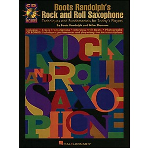 Hal Leonard Boots Randolphs Rock and Roll Saxophone Book/CD