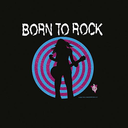 Musician's Friend Born to Rock Womens Cap Sleeve T-Shirt
