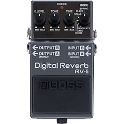 Boss RV-5 Digital Reverb Effects Pedal