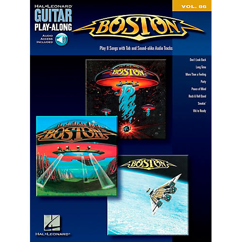 Hal Leonard Boston - Guitar Play-Along Series, Volume 86 (Book/CD)-thumbnail