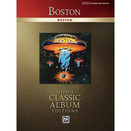 Alfred Boston Classic Album Edition Guitar Tab Songbook-thumbnail