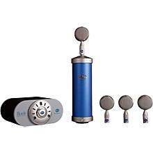 Blue Bottle Mic Locker