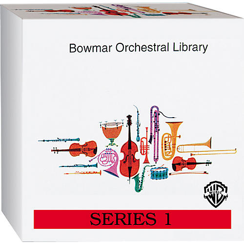 Alfred Bowmar Orchestral Library 12-CD Box Set Series 1