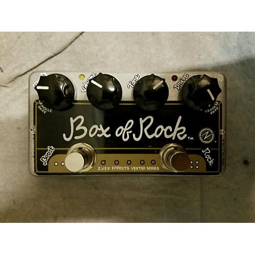 Zvex Box Of Rock Distortion Boost Effect Pedal