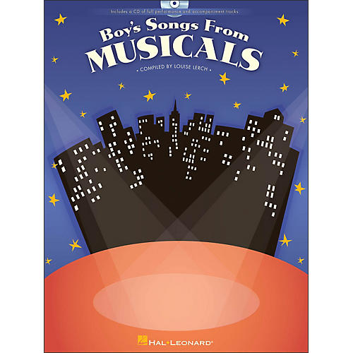 Hal Leonard Boy's Songs From Musicals Book/CD-thumbnail