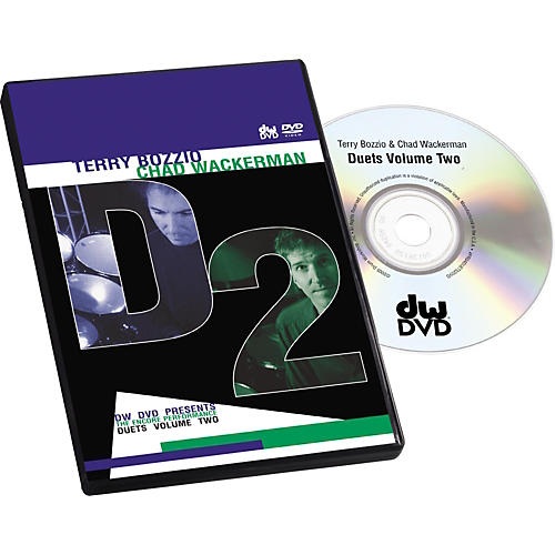 The Drum Channel Bozzio and Wackerman Duets #2 (DVD)