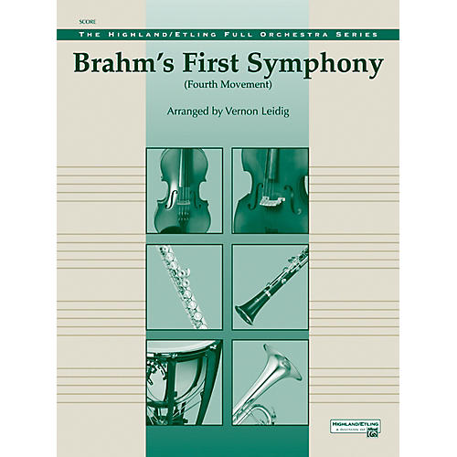 Alfred Brahms's 1st Symphony, 4th Movement - Concert Orchestra Grade 3 Set-thumbnail