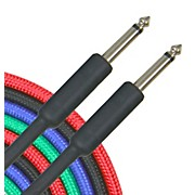 Musician's Gear Braided Instrument Cable 1/4""