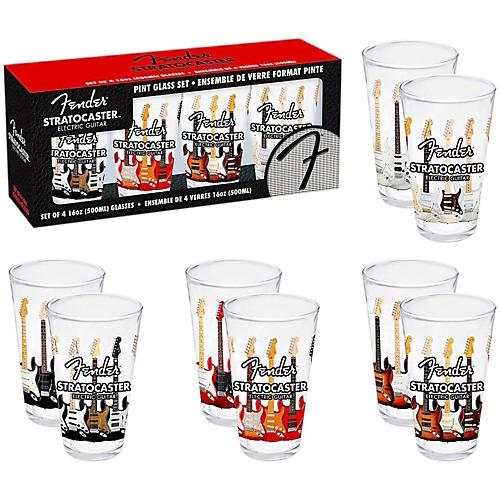 Fender Branded Pint Glasses (Set of 4)-thumbnail