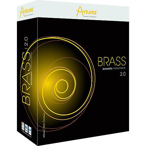 Arturia Brass 2.0 Virtual Instrument Software