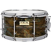 Brass Patina Snare Drum 7 x 13