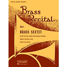 Rubank Publications Brass Recital (for Brass Sextet) (Baritone B.C.) Ensemble Collection Series
