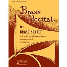 Rubank Publications Brass Recital (for Brass Sextet) (Full Score) Ensemble Collection Series