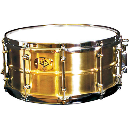 Eccentric Systems Design Brass Snare Drum-thumbnail