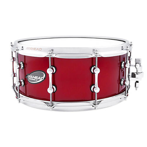 Ahead Brass Snare Red Candy 14 x 6 in.