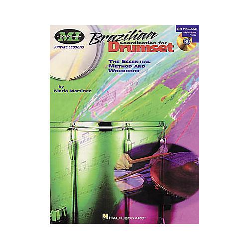 Hal Leonard Brazilian Coordination for Drumset Book/CD