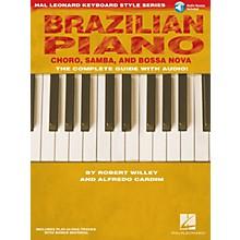 Hal Leonard Brazilian Piano - Choro, Samba, and Bossa Nova Keyboard Instruction by Robert Willey (Book/Online Audio)