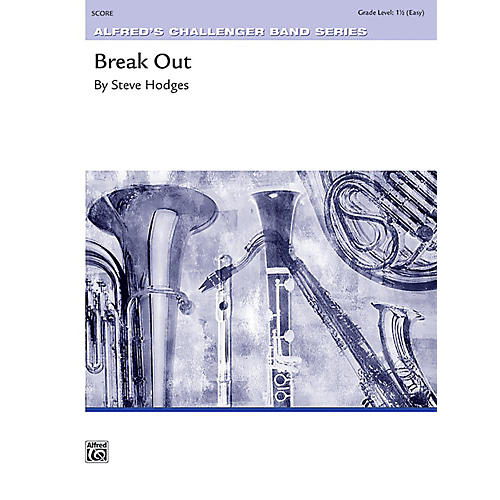 Alfred Break Out Concert Band Grade 1.5 Set-thumbnail