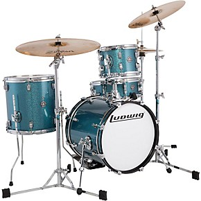 ludwig breakbeats by questlove 4 piece shell pack guitar center. Black Bedroom Furniture Sets. Home Design Ideas