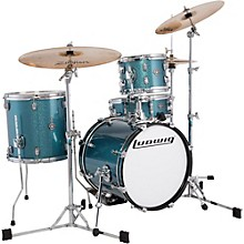 Ludwig Breakbeats by Questlove 4-Piece Shell Pack Level 1 Azure Sparkle