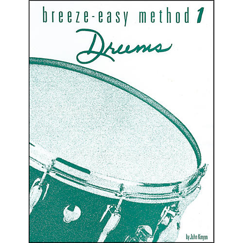 Alfred Breeze-Easy Method for Drums Book I-thumbnail