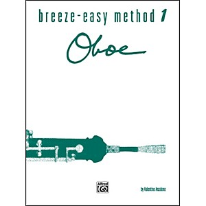 Alfred Breeze-Easy Method for Oboe Book I by Alfred