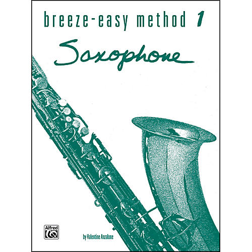 Alfred Breeze-Easy Method for Saxophone Book I-thumbnail