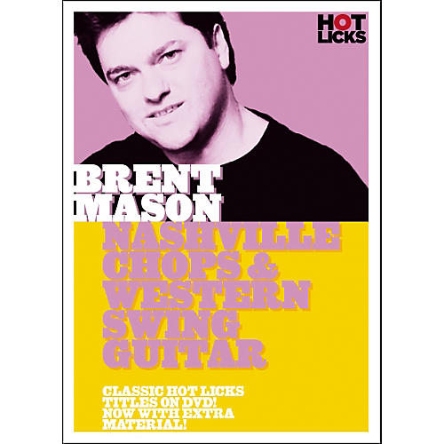Hot Licks Brent Mason Nashville Chops and Western Swing Guitar (DVD)