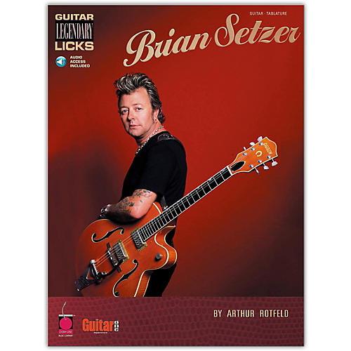 Cherry Lane Brian Setzer - Guitar Legendary Licks Book with CD