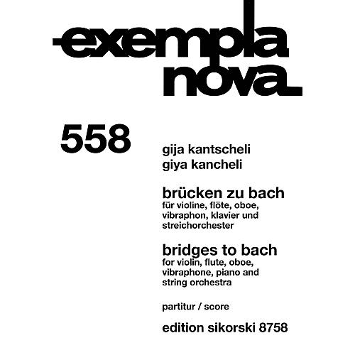 Sikorski Bridges to Bach Study Score Series Softcover Composed by Giya Kancheli