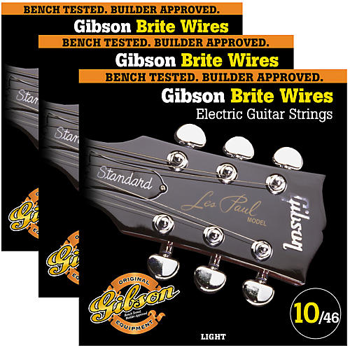 Gibson Brite Wires Light Guitar Strings-thumbnail