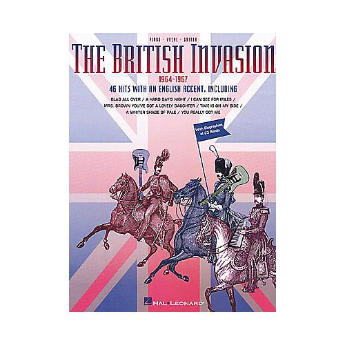 Hal Leonard British Invasion Piano/Vocal/Guitar Songbook-thumbnail