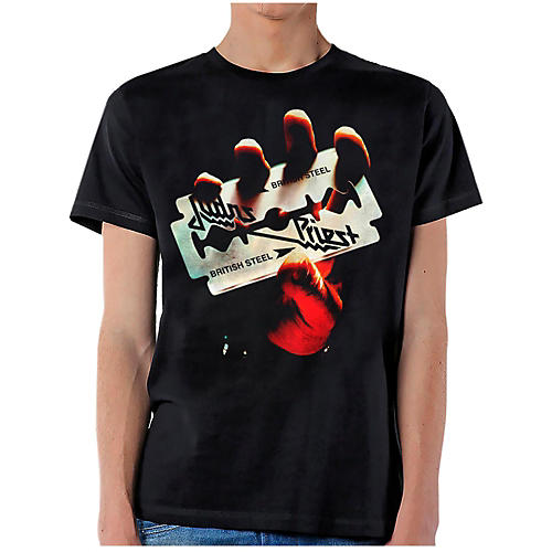Judas Priest British Steel T-Shirt-thumbnail