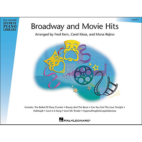 Hal Leonard Broadway And Movie Hits Level 1 Book Hal Leonard Student Piano Library