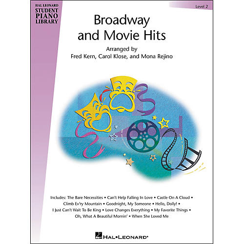 Hal Leonard Broadway And Movie Hits Level 2 Book Hal Leonard Student Piano Library-thumbnail