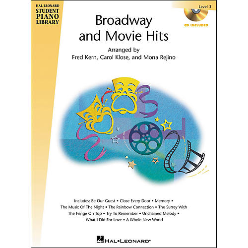 Hal Leonard Broadway And Movie Hits Level 3 Book/CD Hal Leonard Student Piano Library-thumbnail