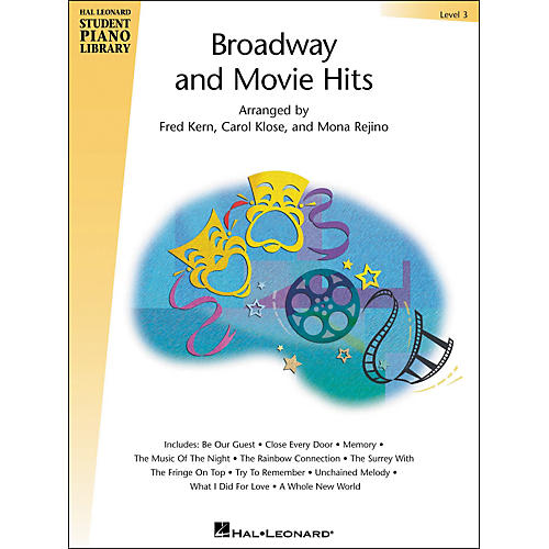 Hal Leonard Broadway And Movie Hits Level 3 Book Only Hal Leonard Student Piano Library