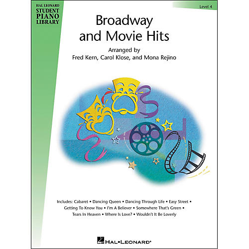 Hal Leonard Broadway And Movie Hits Level 4 Book Hal Leonard Student Piano Library