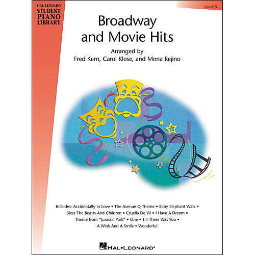 Hal Leonard Broadway And Movie Hits Level 5 Book Hal Leonard Student Piano Library-thumbnail