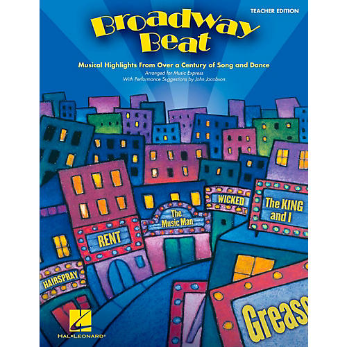 Hal Leonard Broadway Beat - Musical Highlights from Over a Century of Song and Dance Teacher's Edition-thumbnail