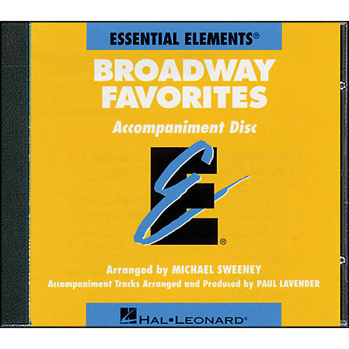 Hal Leonard Broadway Favorites - CD Essential Elements Band CD Accompaniment
