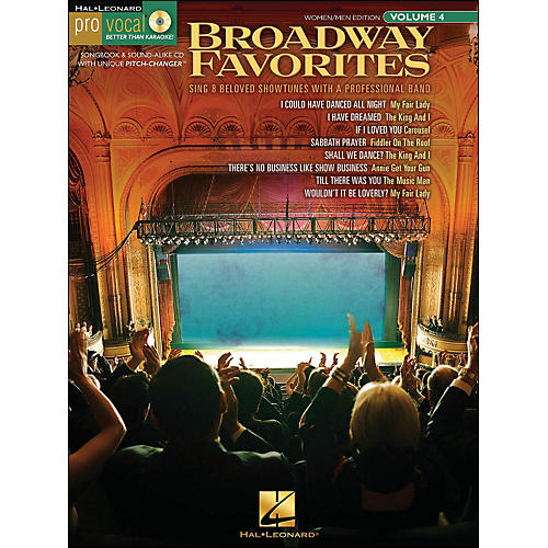 Hal Leonard Broadway Favorites - Pro Vocal Series Volume 4 for Women/Men Book/CD