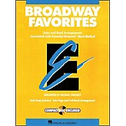 Hal Leonard Broadway Favorites Baritone B.C. Essential Elements Band
