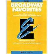 Hal Leonard Broadway Favorites Clarinet Essential Elements Band