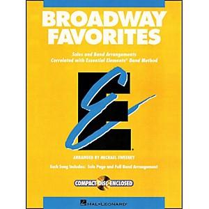 Hal Leonard Broadway Favorites Oboe Essential Elements Band by Hal Leonard