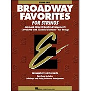 Hal Leonard Broadway Favorites for Strings String Bass Essential Elements