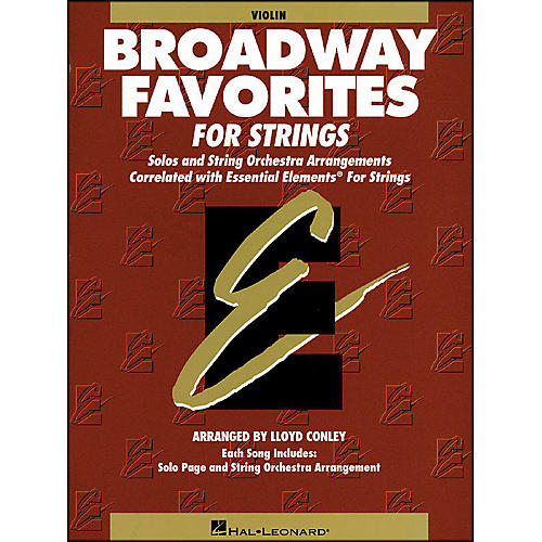 Hal Leonard Broadway Favorites for Strings Violin Essential Elements-thumbnail
